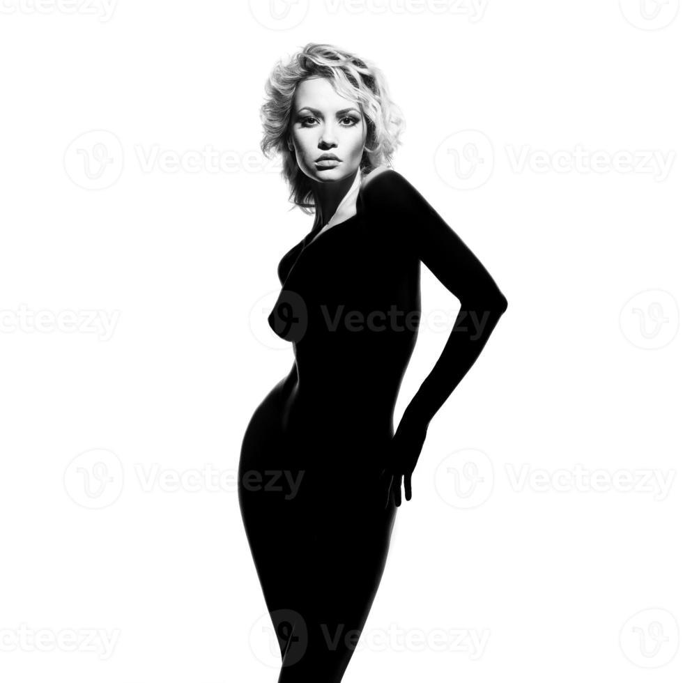 Gorgeous lady photo