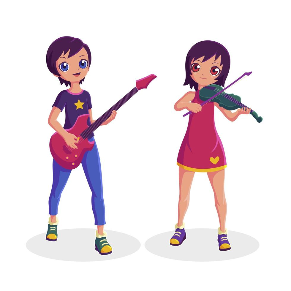 Musician clipart female musician, Musician female musician Transparent FREE  for download on WebStockReview 2020