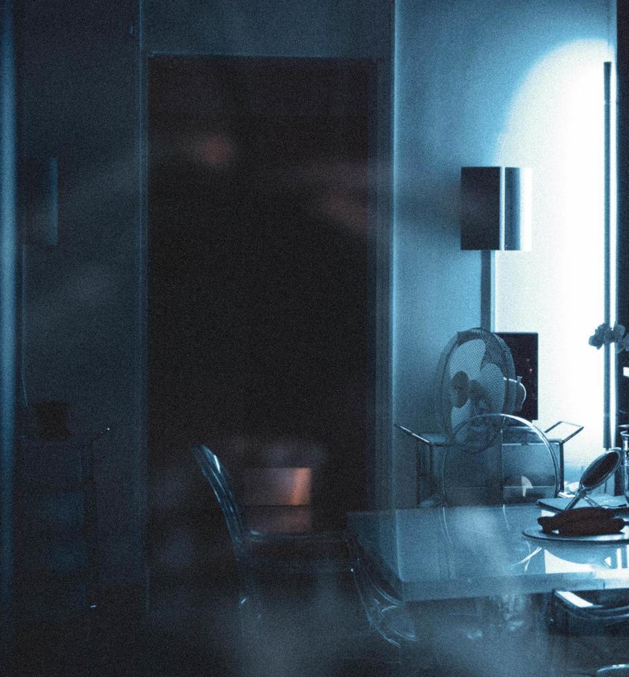 Dark interior room  photo