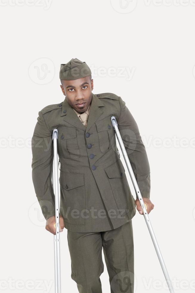 Injured solider photo
