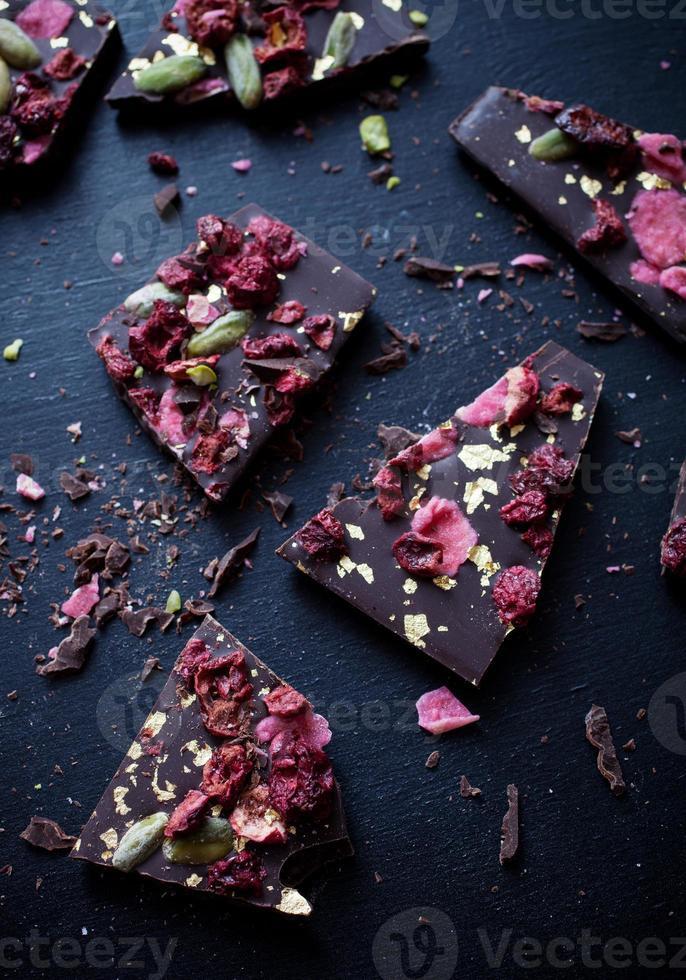 Handmade chocolate photo