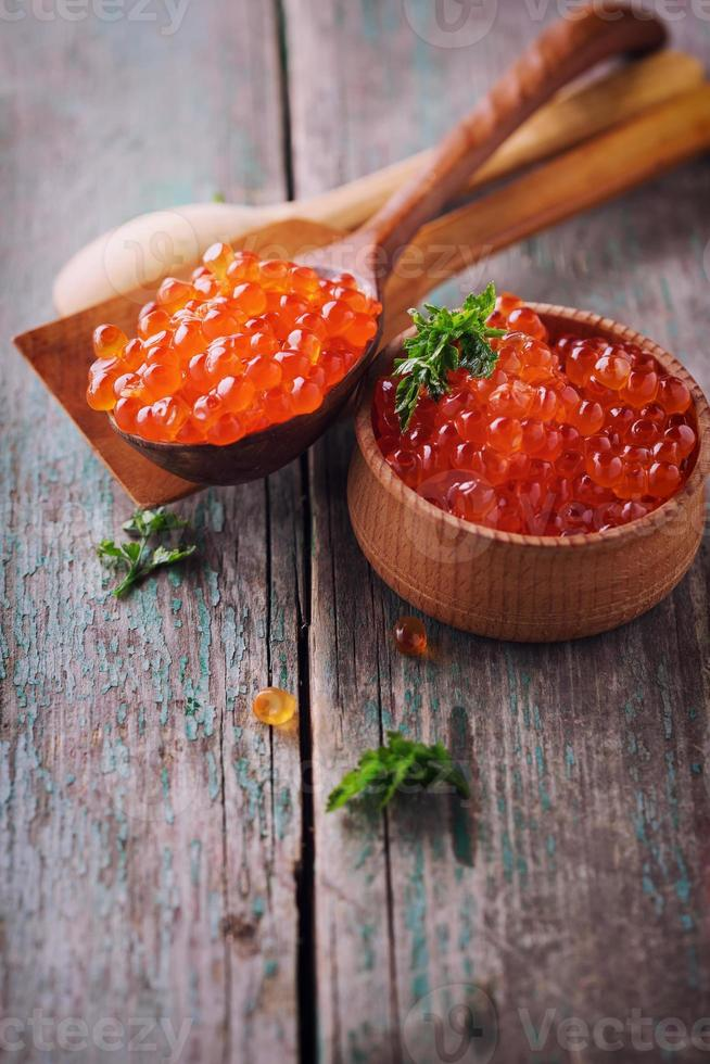 Red caviar photo