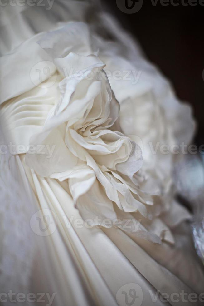 White wedding Dress photo