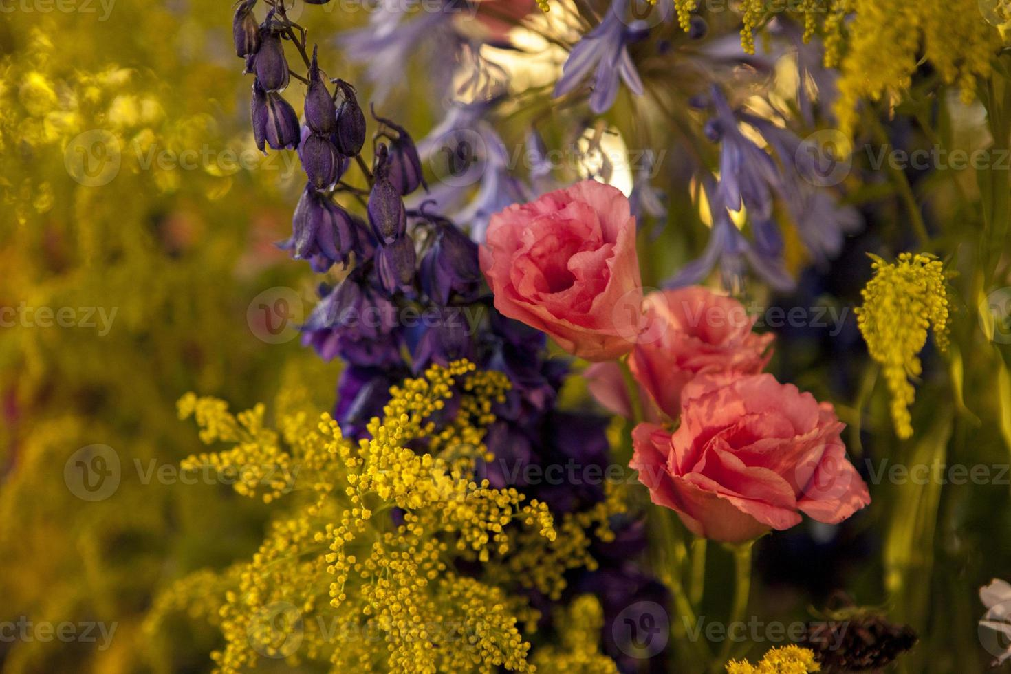 flowers in Wedding Reception photo