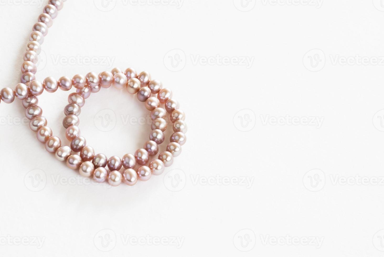 pink pearls swirl photo