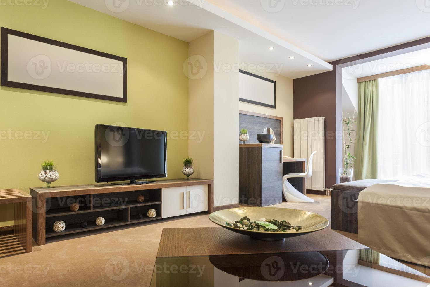 Modern spacious room interior photo