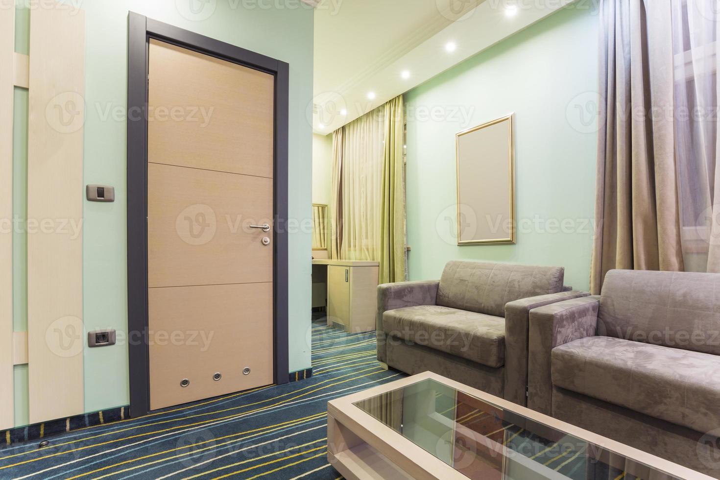 Hotel room interior photo