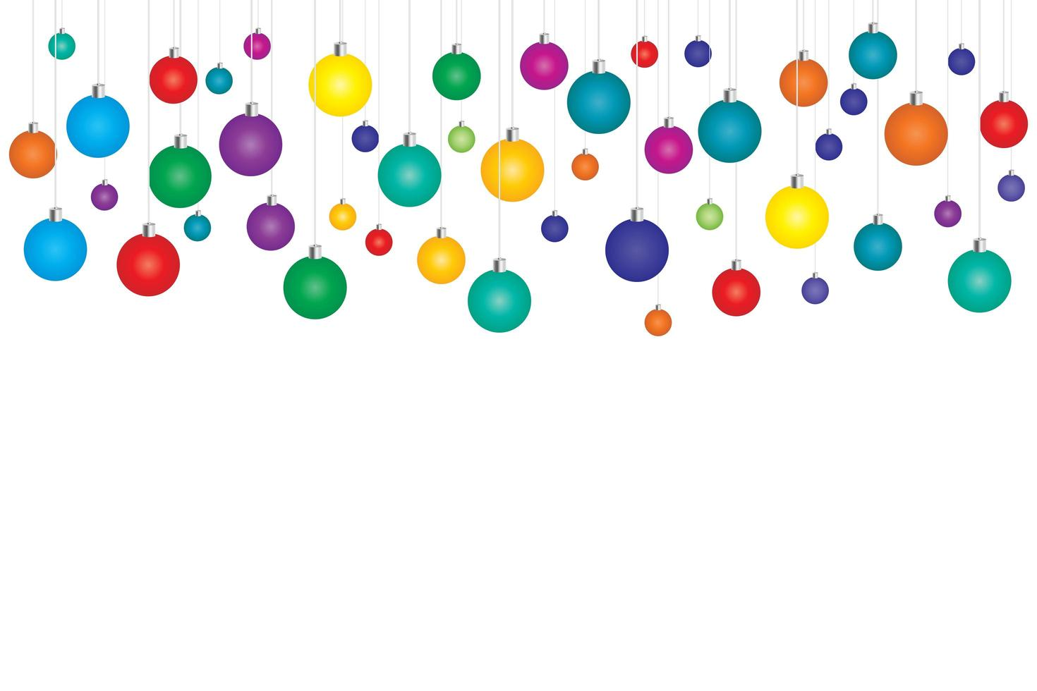 fundo de natal colorido vetor