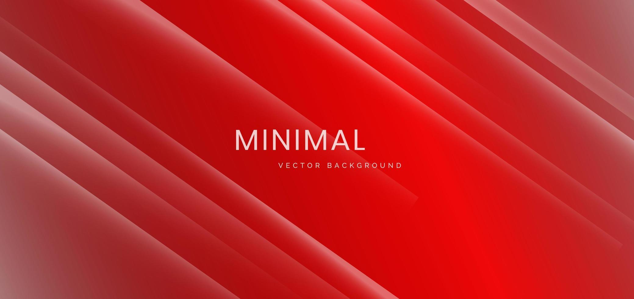 fundo gradiente vermelho e branco minimalista vetor