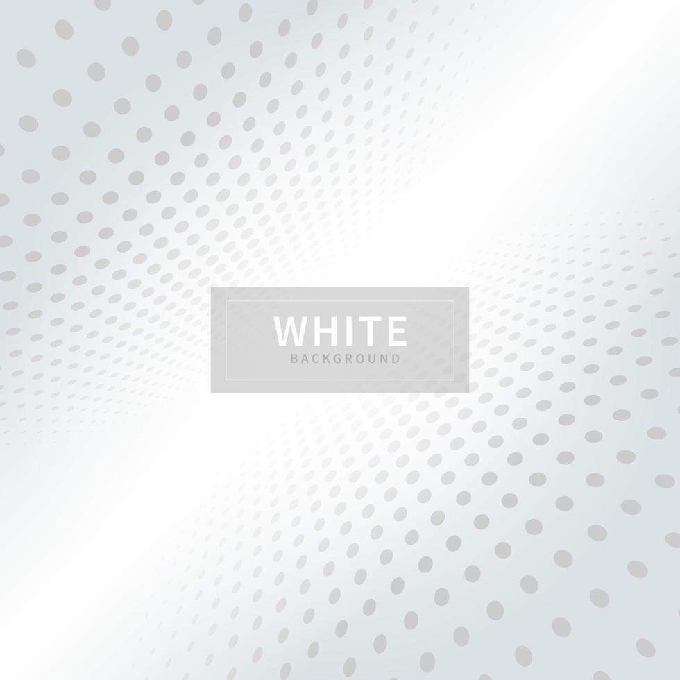 fundo padrão de perspectiva de ponto branco vetor