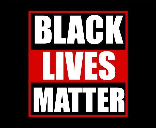 Design Black lives matter vector