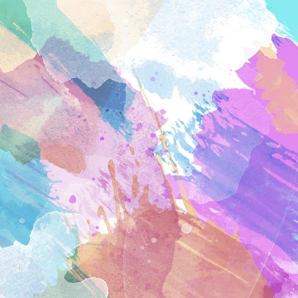 fundo com textura aquarela vetor