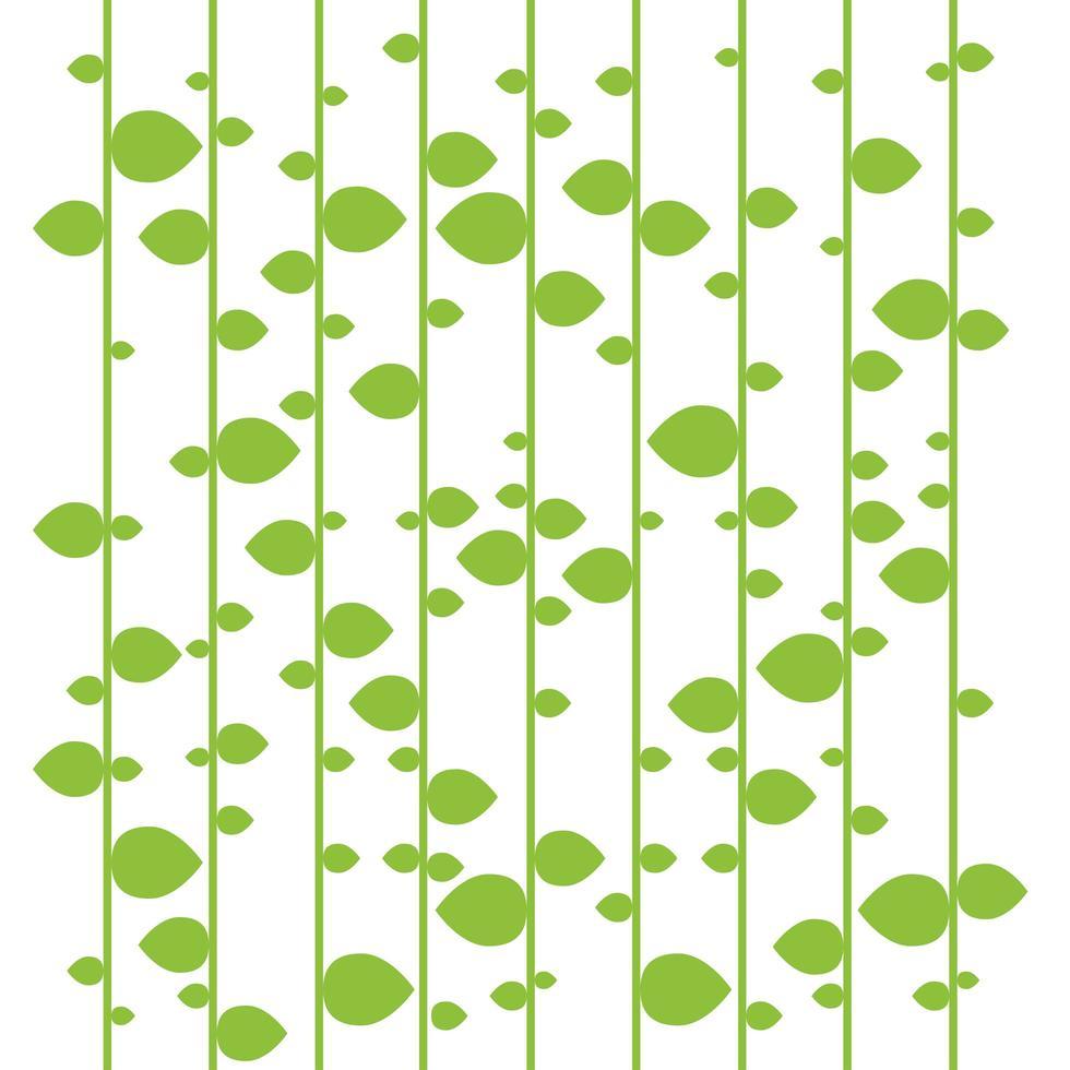 fundo de folhas verdes vetor
