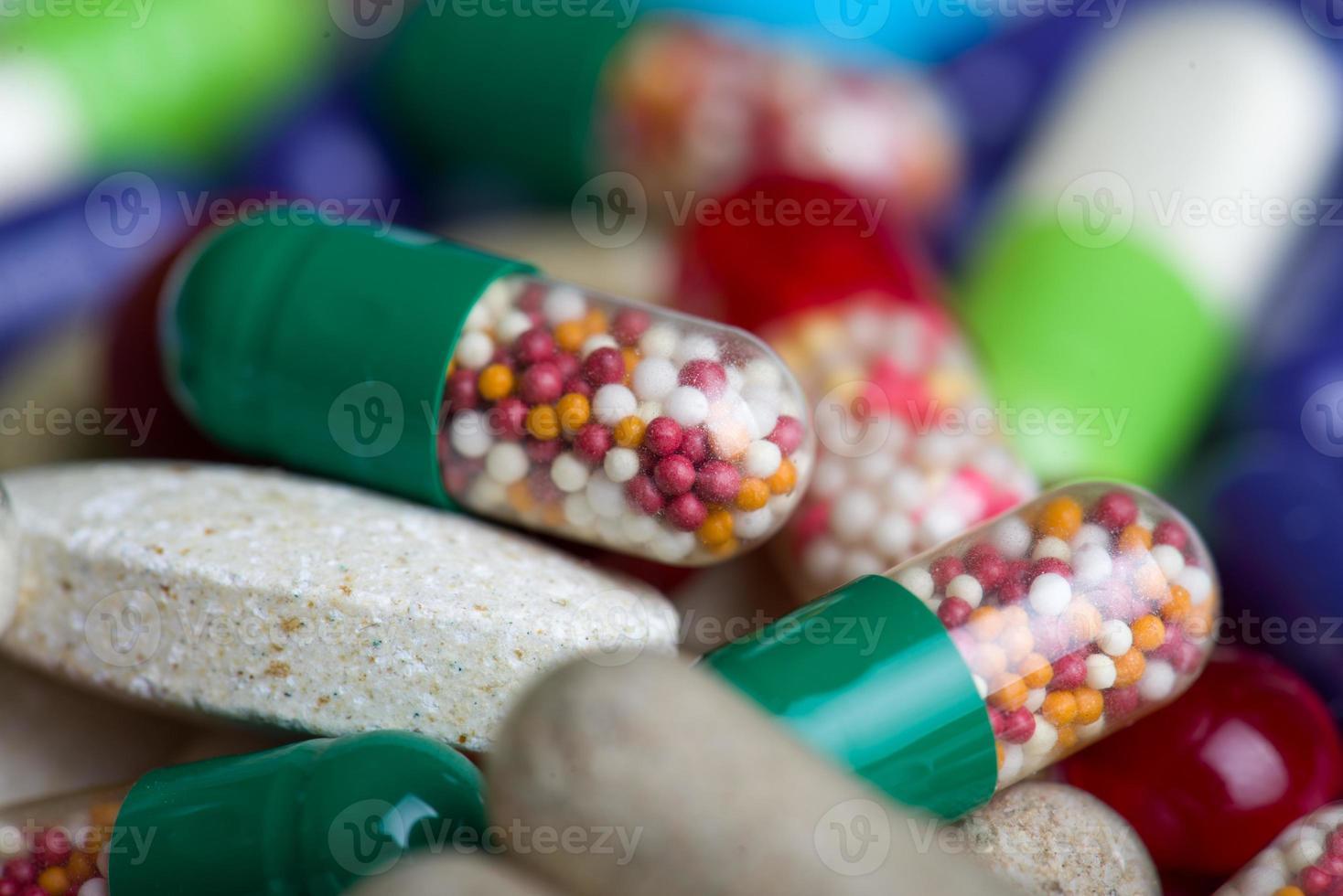 pastillas de fondo foto
