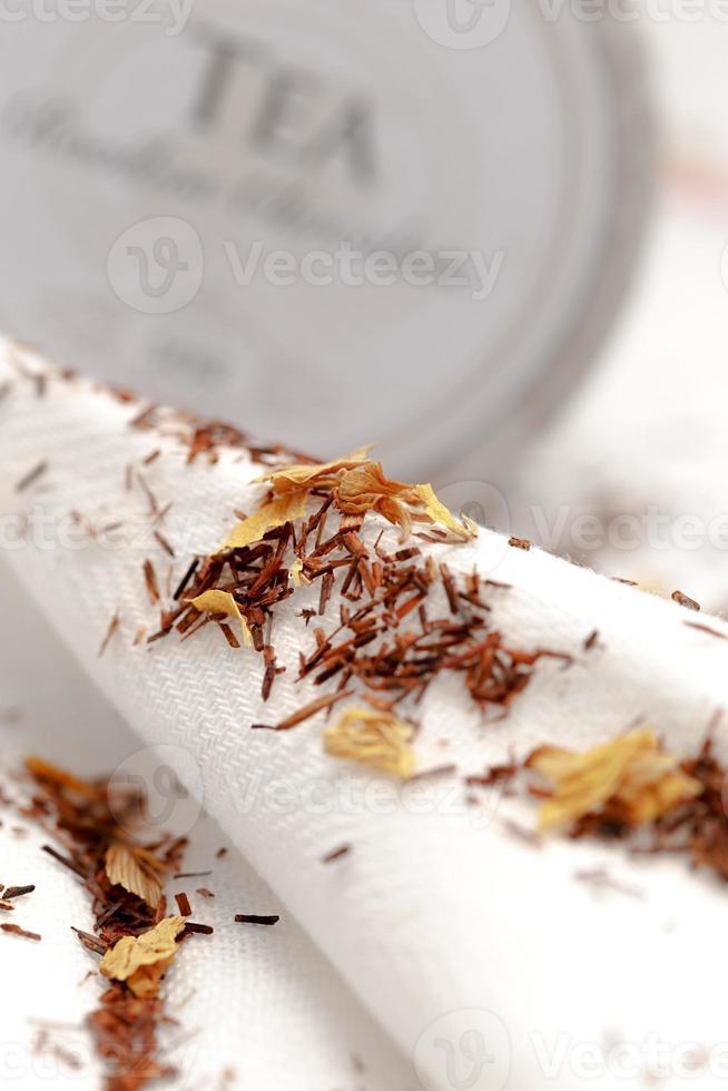 Closeup of rooibos tea photo