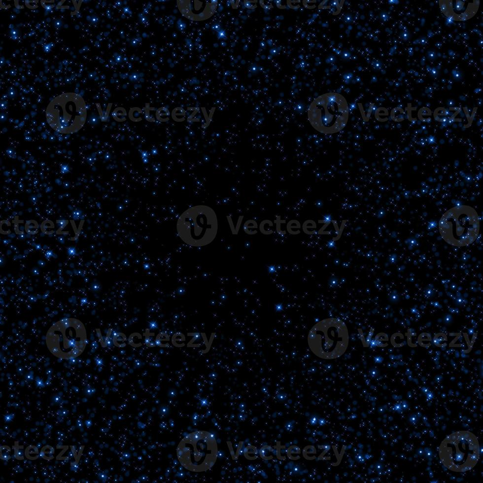 Blue sparkle glitter abstract background. photo