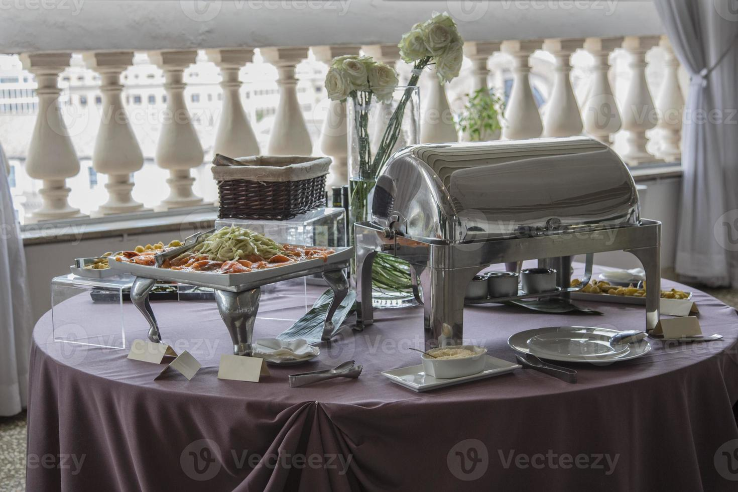 catering table photo