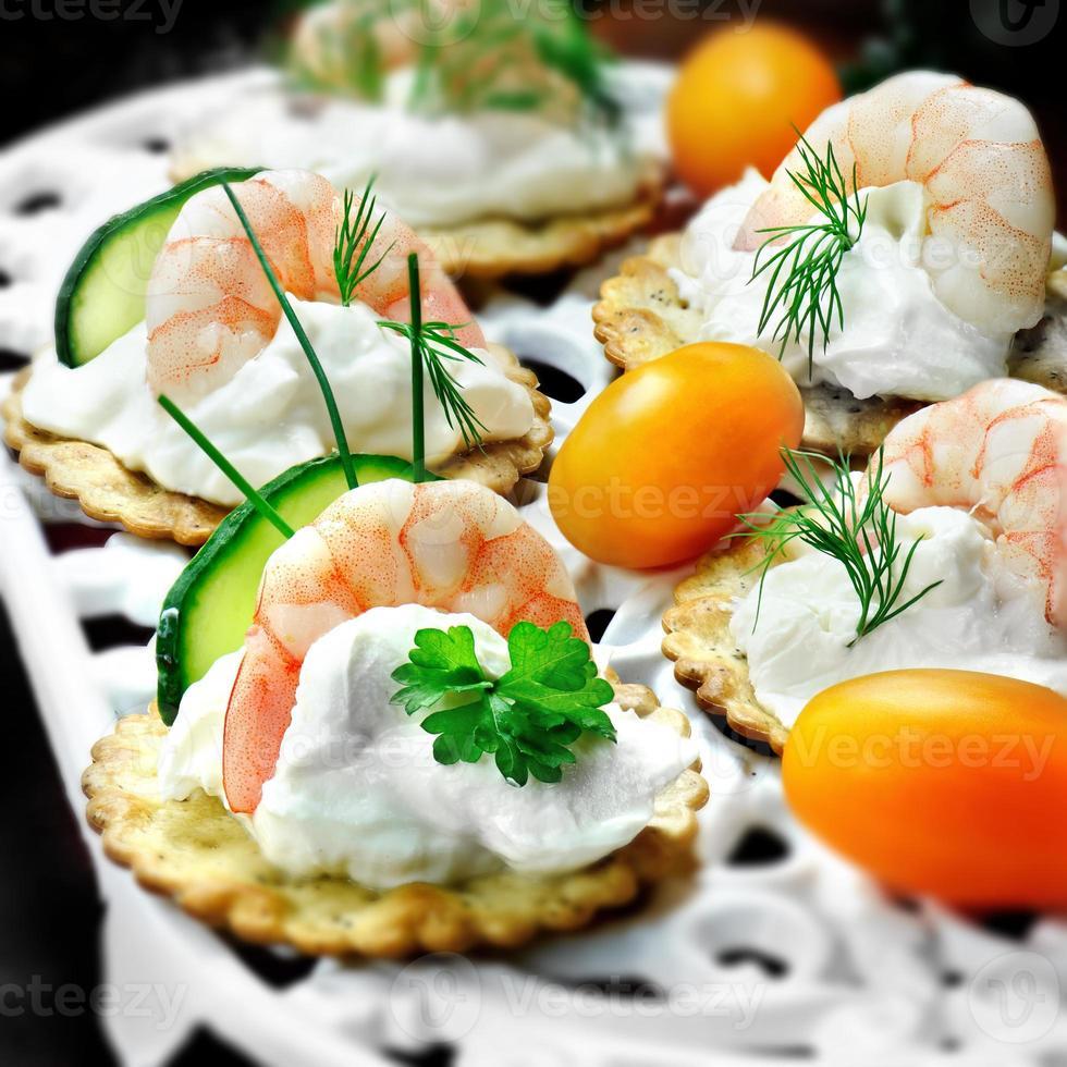 Seafood Canapes photo