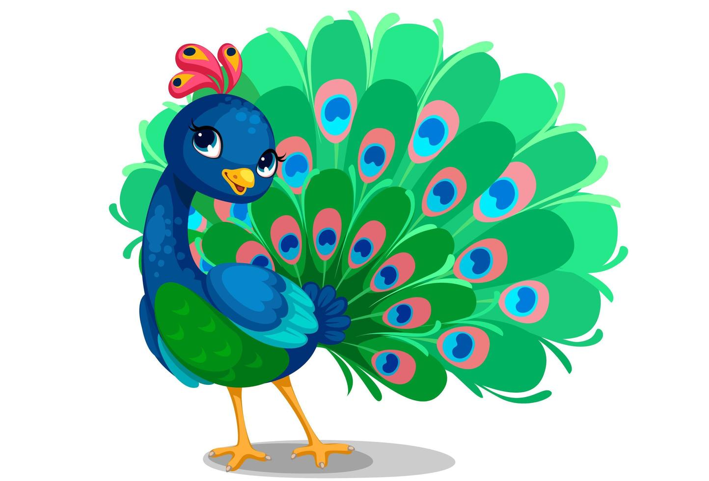 cute baby peacock cartoon download free vectors clipart graphics vector art cute baby peacock cartoon download