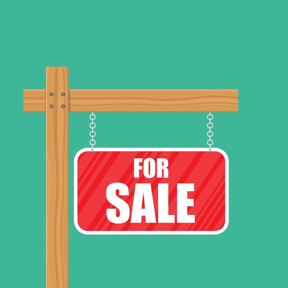 sinal de venda vetor
