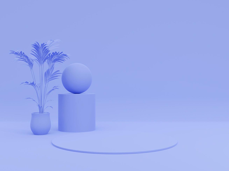 3D purple background photo
