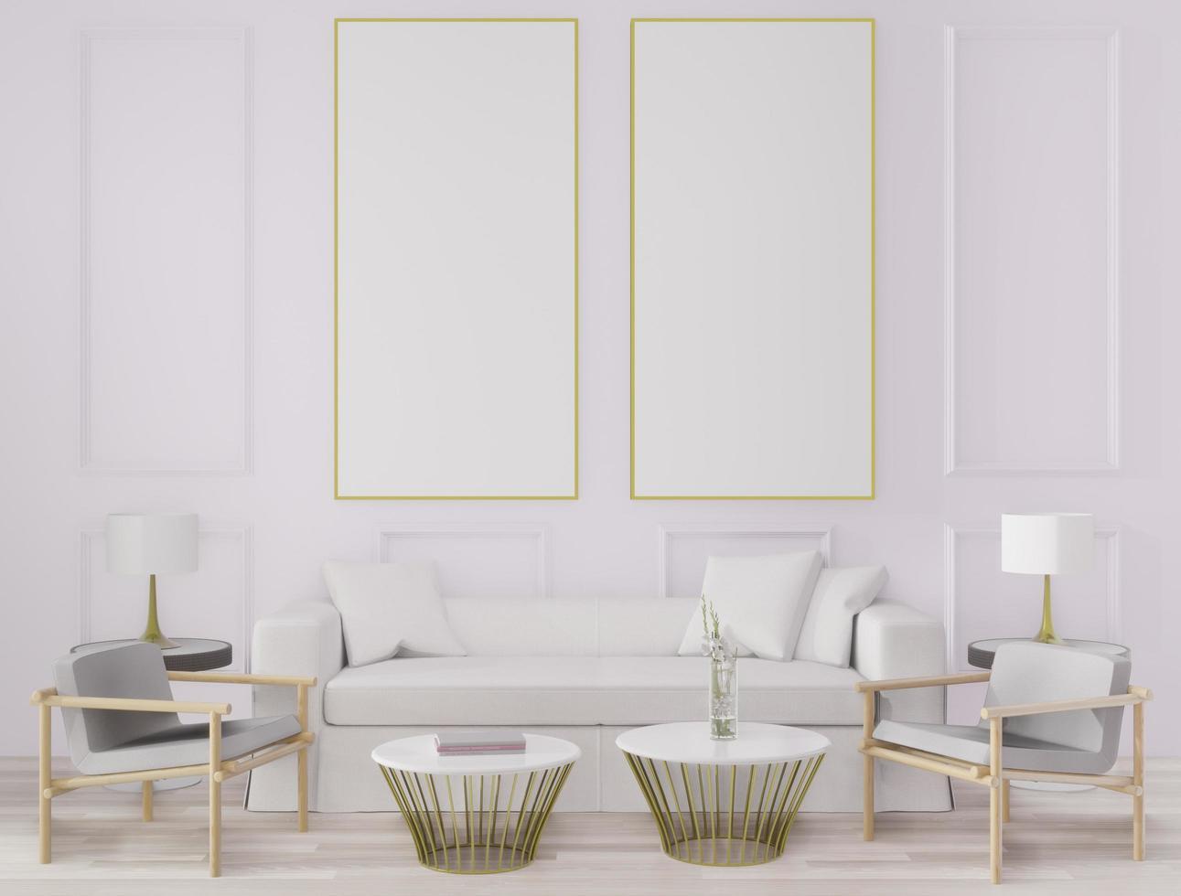 Illustrative interior design photo
