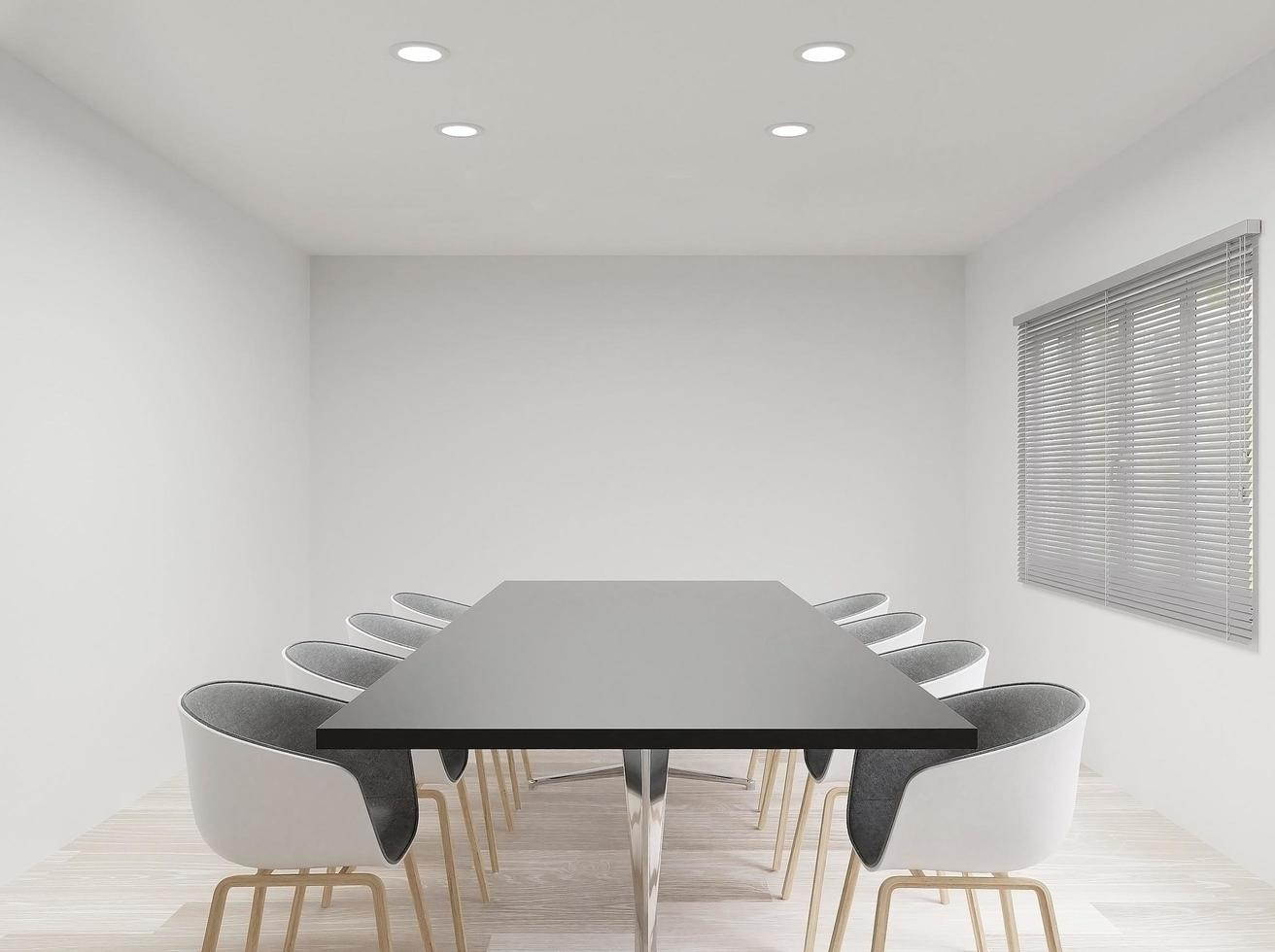 Meeting room with chairs  photo