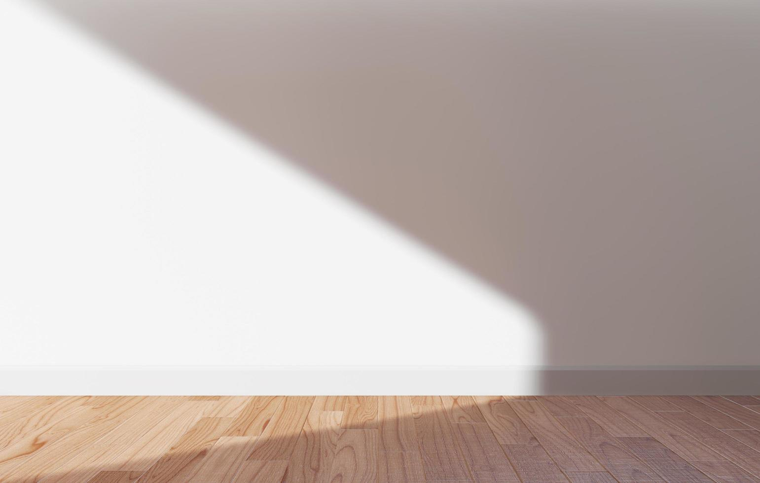 White wall with sunlight photo