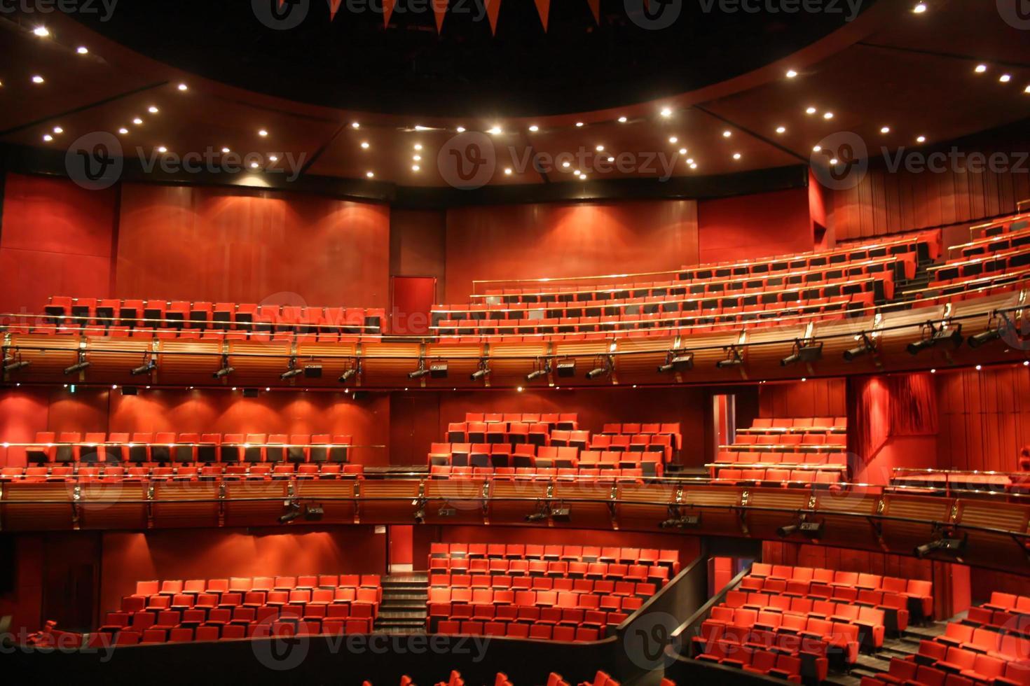 sala de conciertos vacía foto