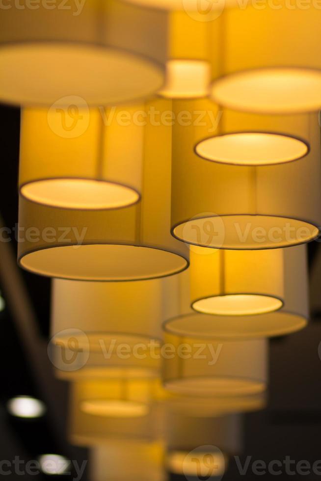 lámpara moderna. foto