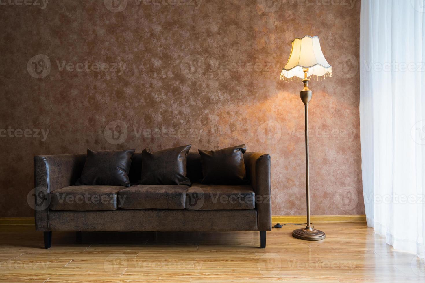 decoración de interiores de casa moderna foto
