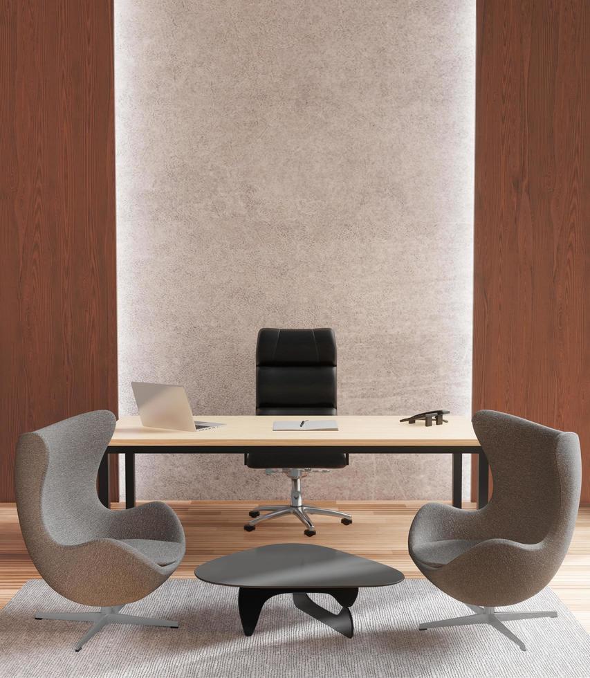 3D rendering of VIP office photo