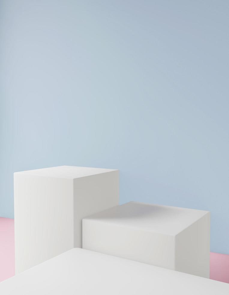 Cosmetic pastel background  photo