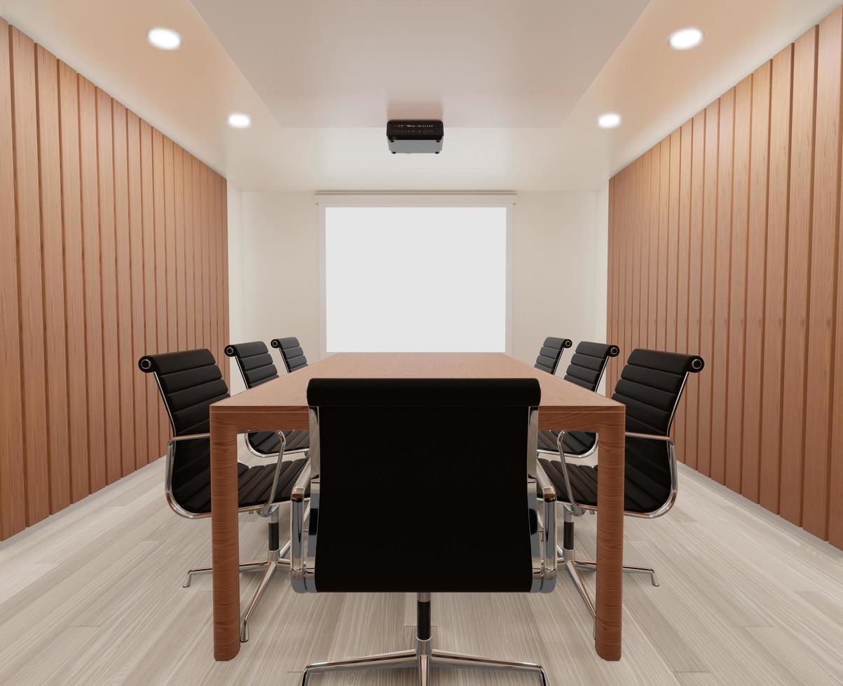Modern office meeting room  photo
