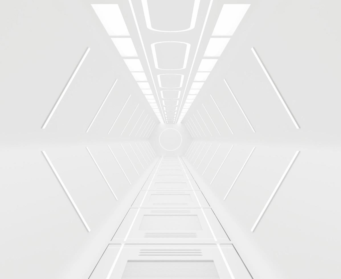 Abstract spaceship background  photo