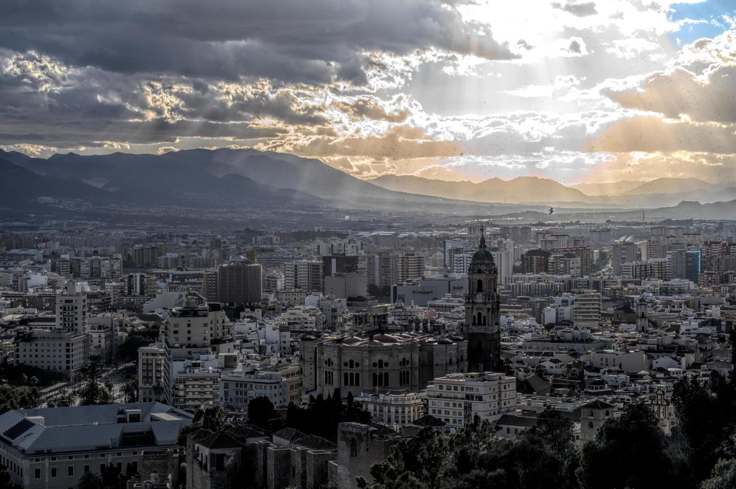 Cityscape of Malaga photo