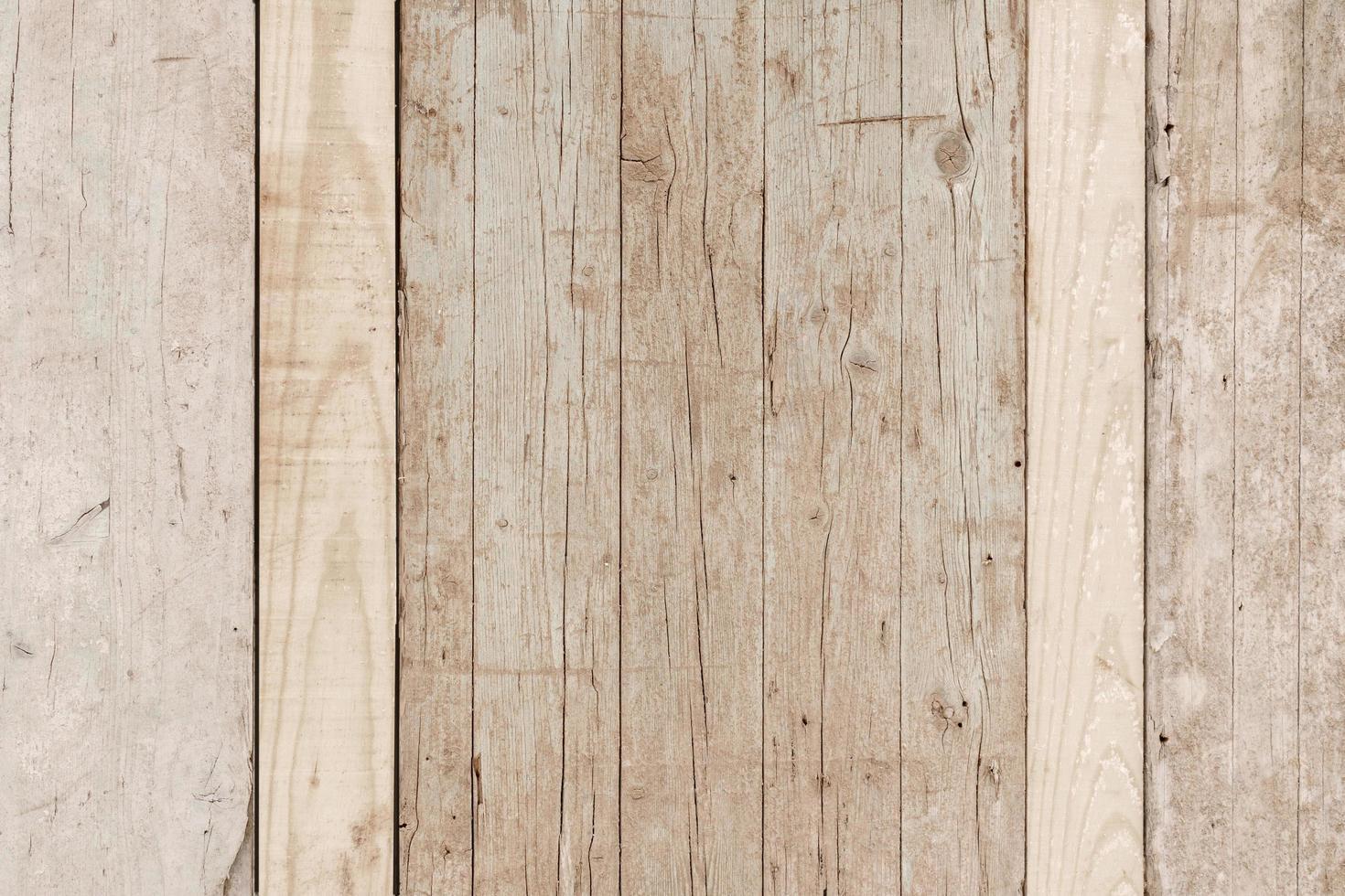 superficie rústica de madera clara foto