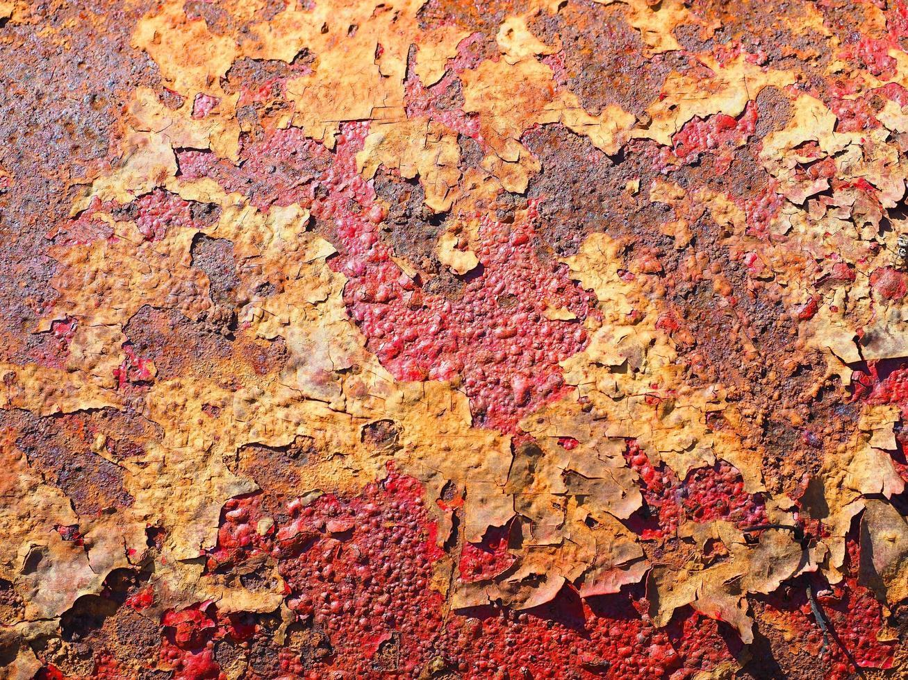 Metal rust texture photo