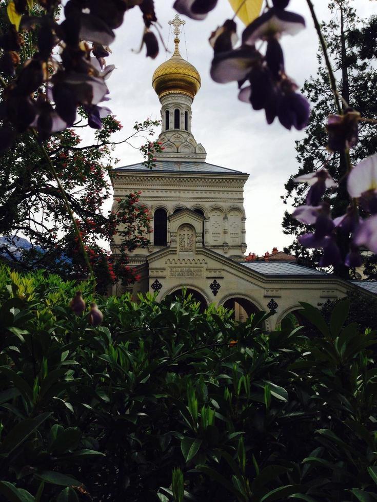 iglesia ortodoxa en vevey foto