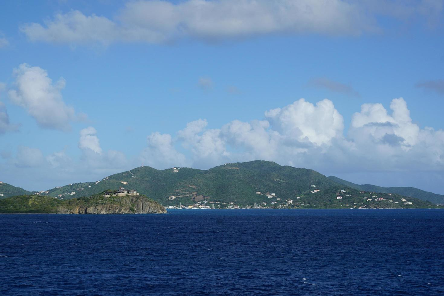 View of the British Virgin Islands  photo