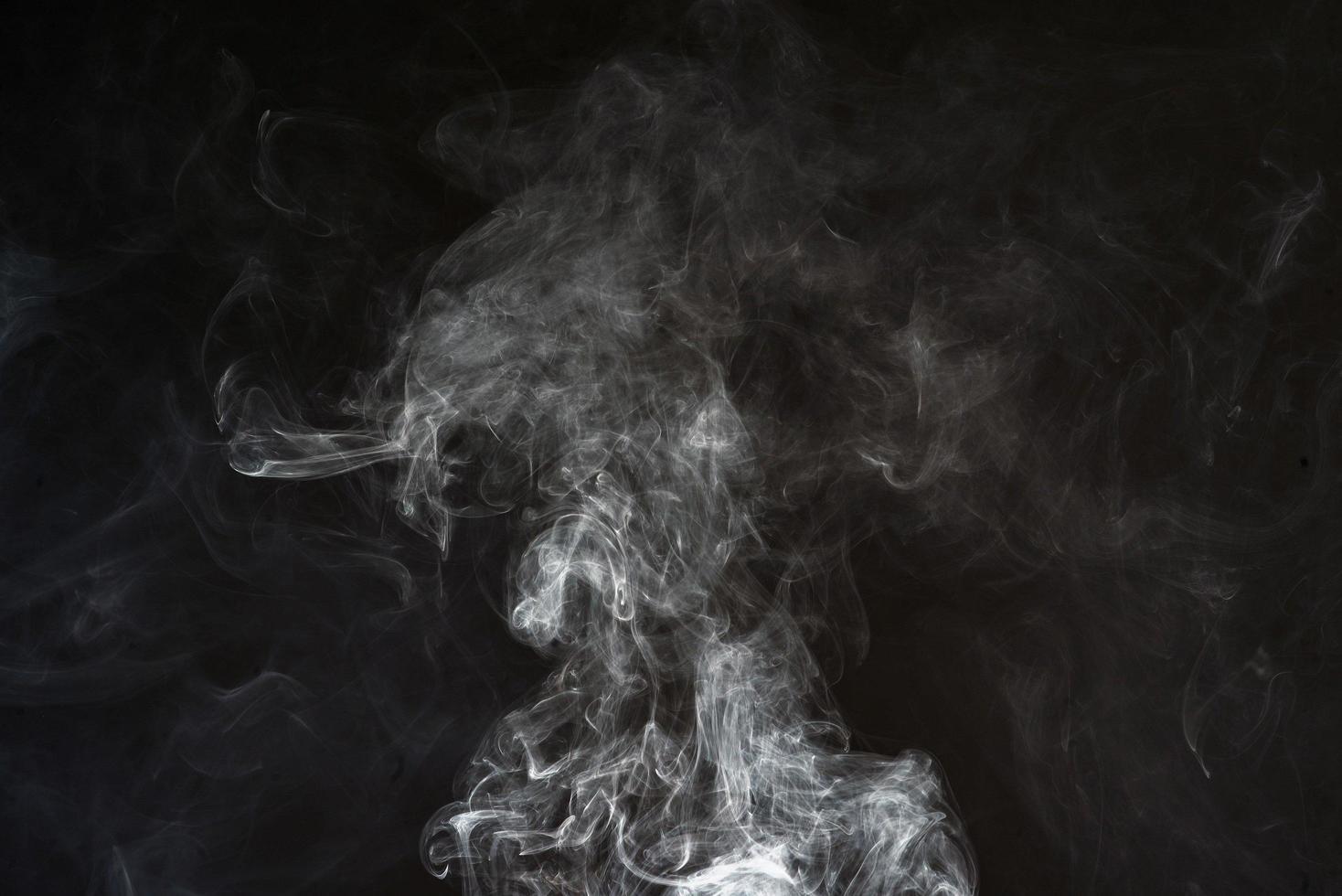 White smoke texture photo