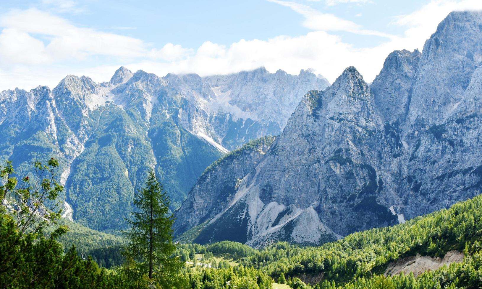 Julian Alps mountains photo