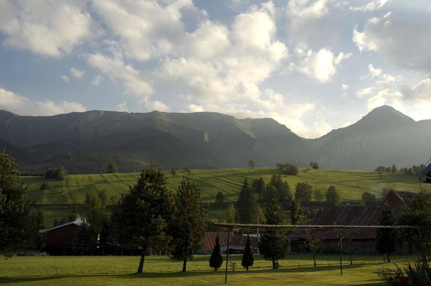 Countryside mountains in Slovakia  photo