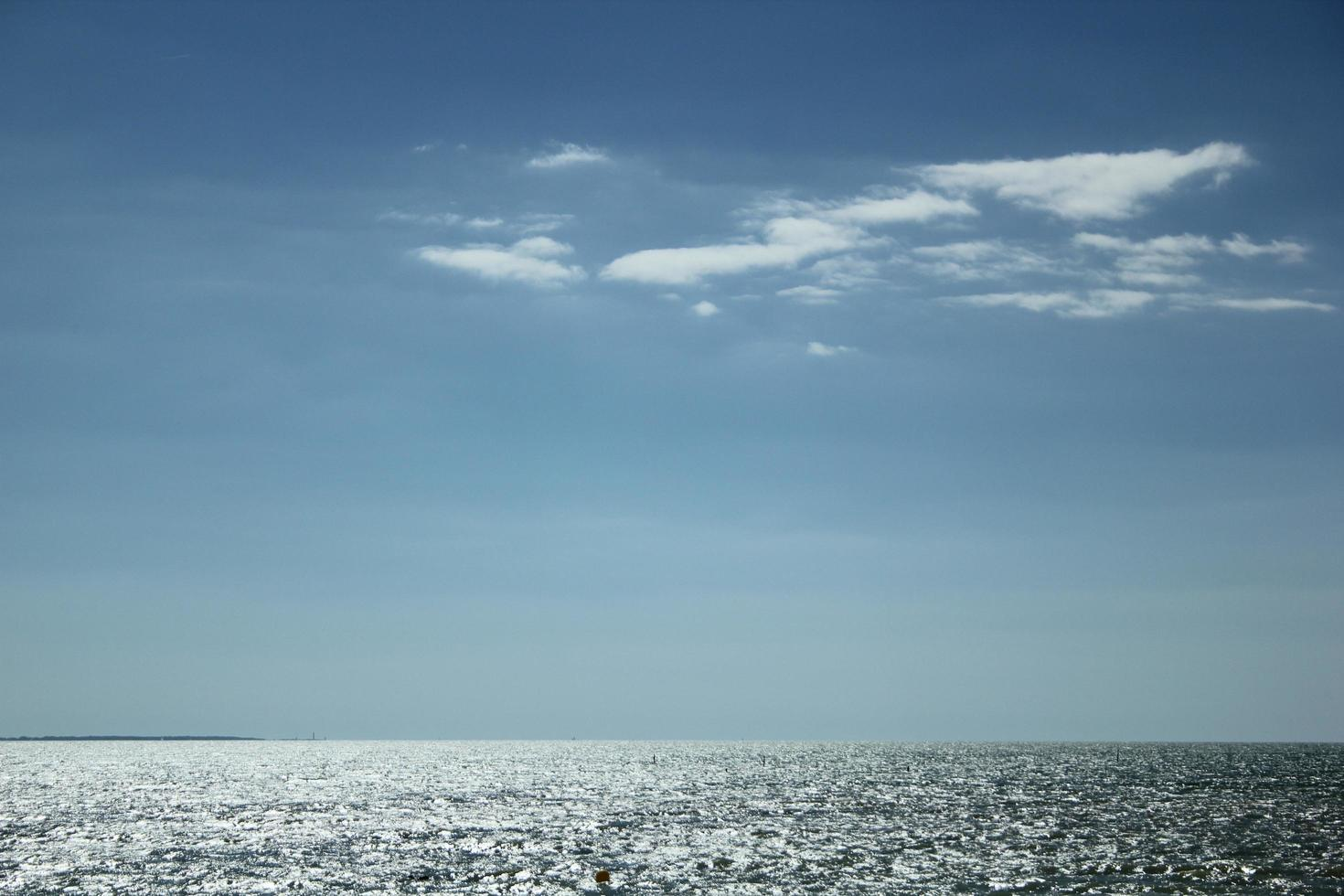 The ocean in France photo