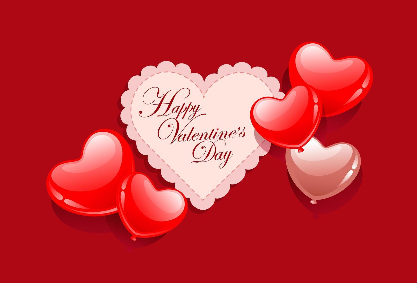 tarjeta de san valentin vector