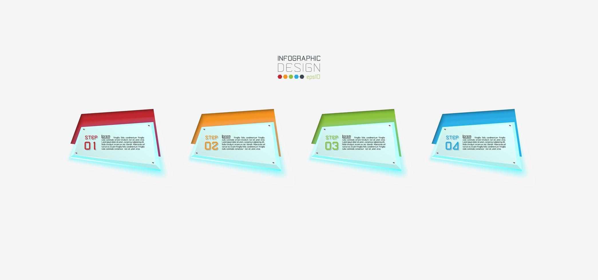 geometrische label pictogramserie vector