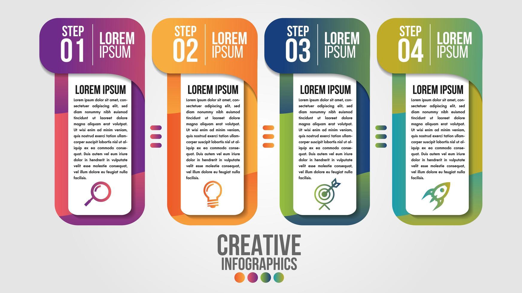 infographic moderne tijdlijn ontwerpsjabloon voor het bedrijfsleven vector
