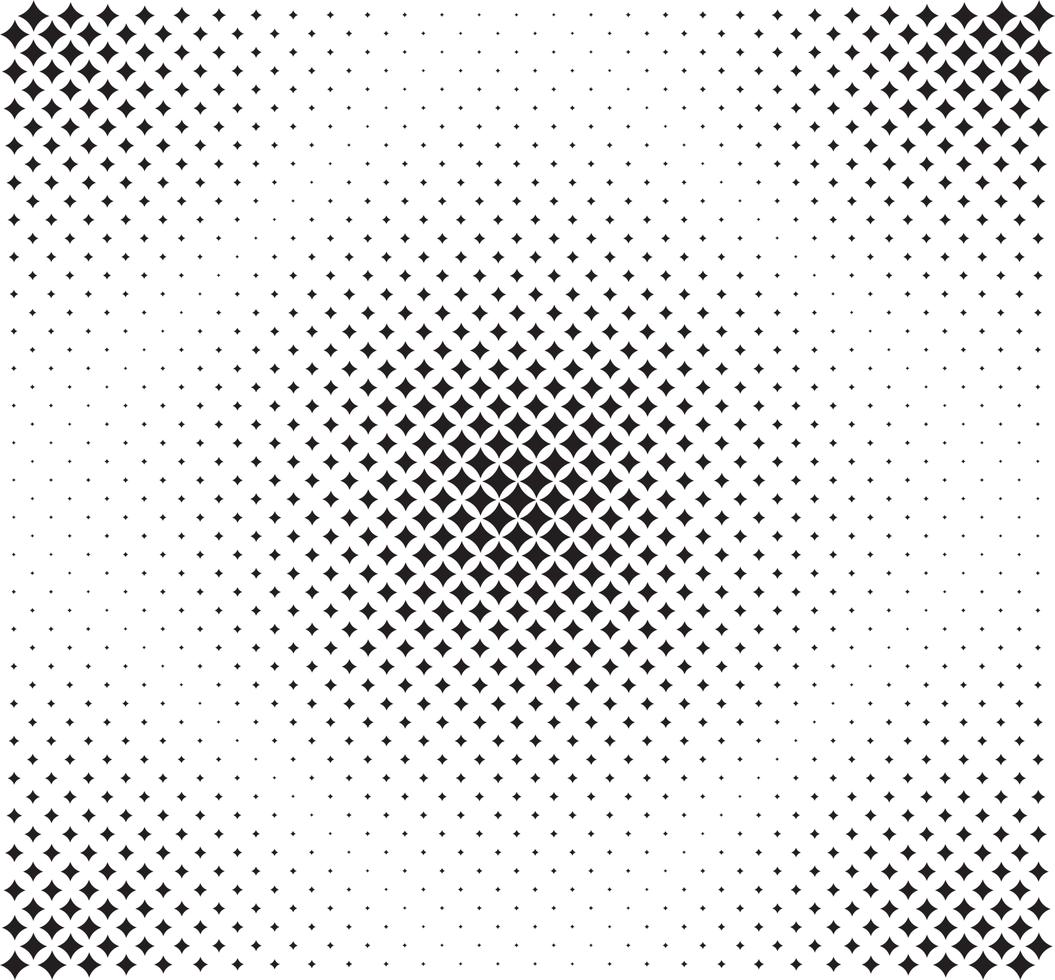 motif d'étoiles noires vecteur