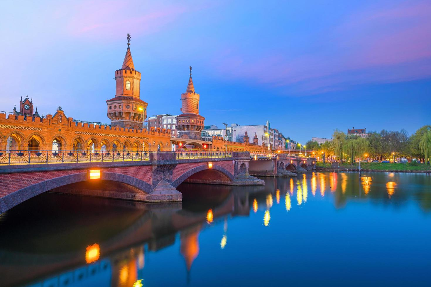 horizonte de berlín en alemania foto