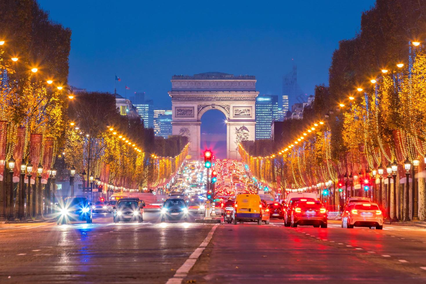 Arc de Triumph in Paris, France photo